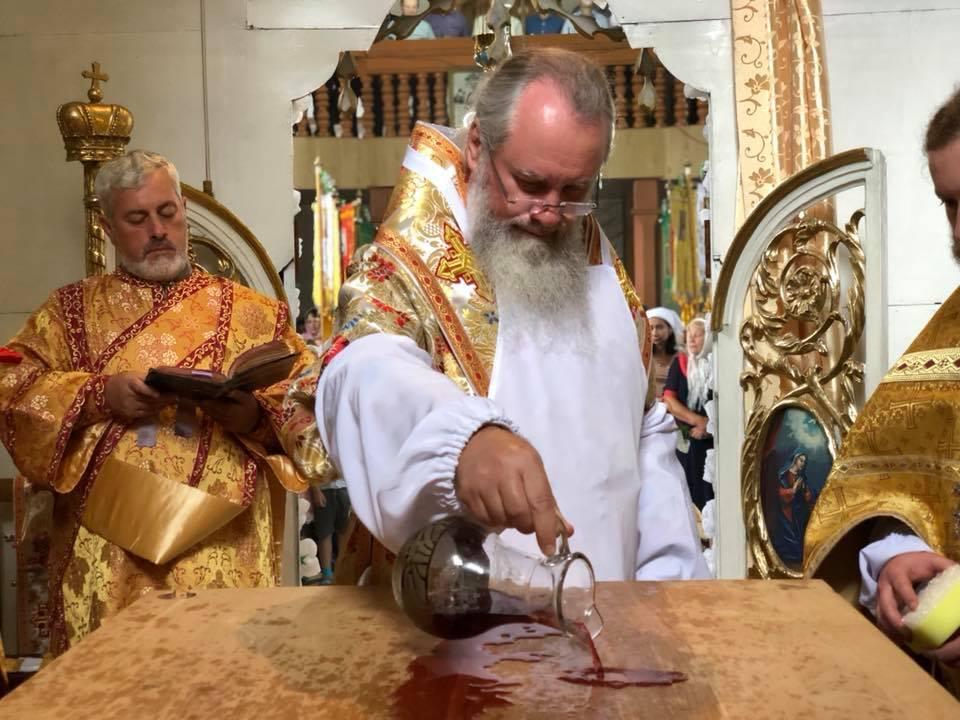 На Закарпатье освятили храм УПЦ / m-church.org.ua