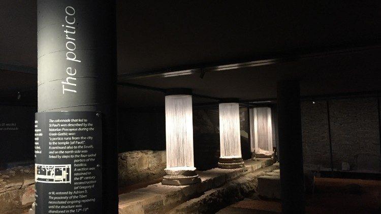 Археологічна зона в базиліці святого Павла поза стінами / vaticannews.va