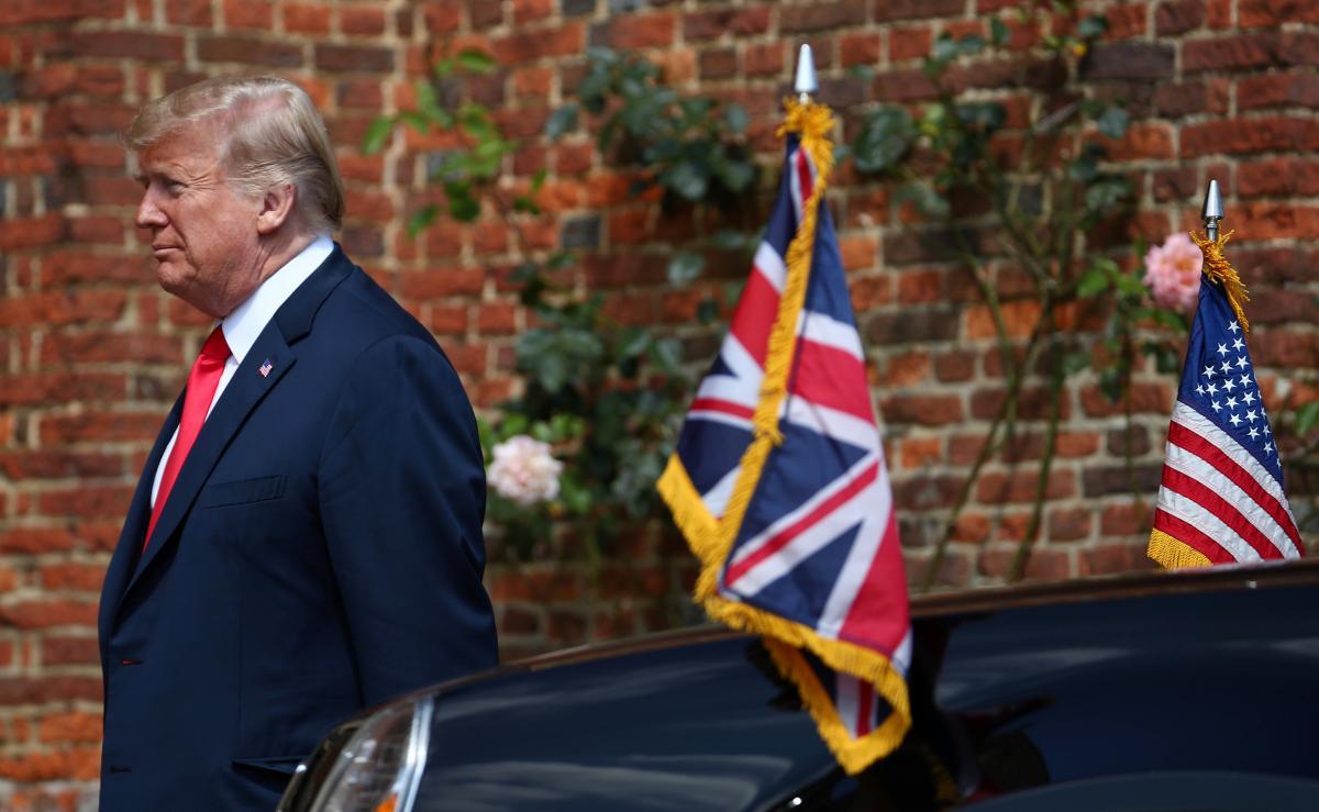 Трампа чекає не проста зустріч з королевою / REUTERS