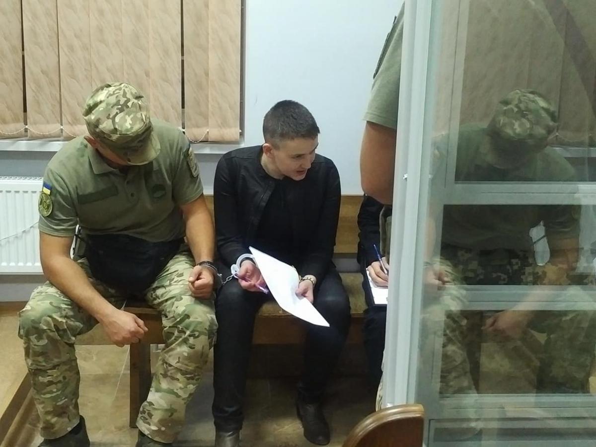 Савченко объявила бессрочную голодовку / фото facebook.com/Savchenko.Nadiia