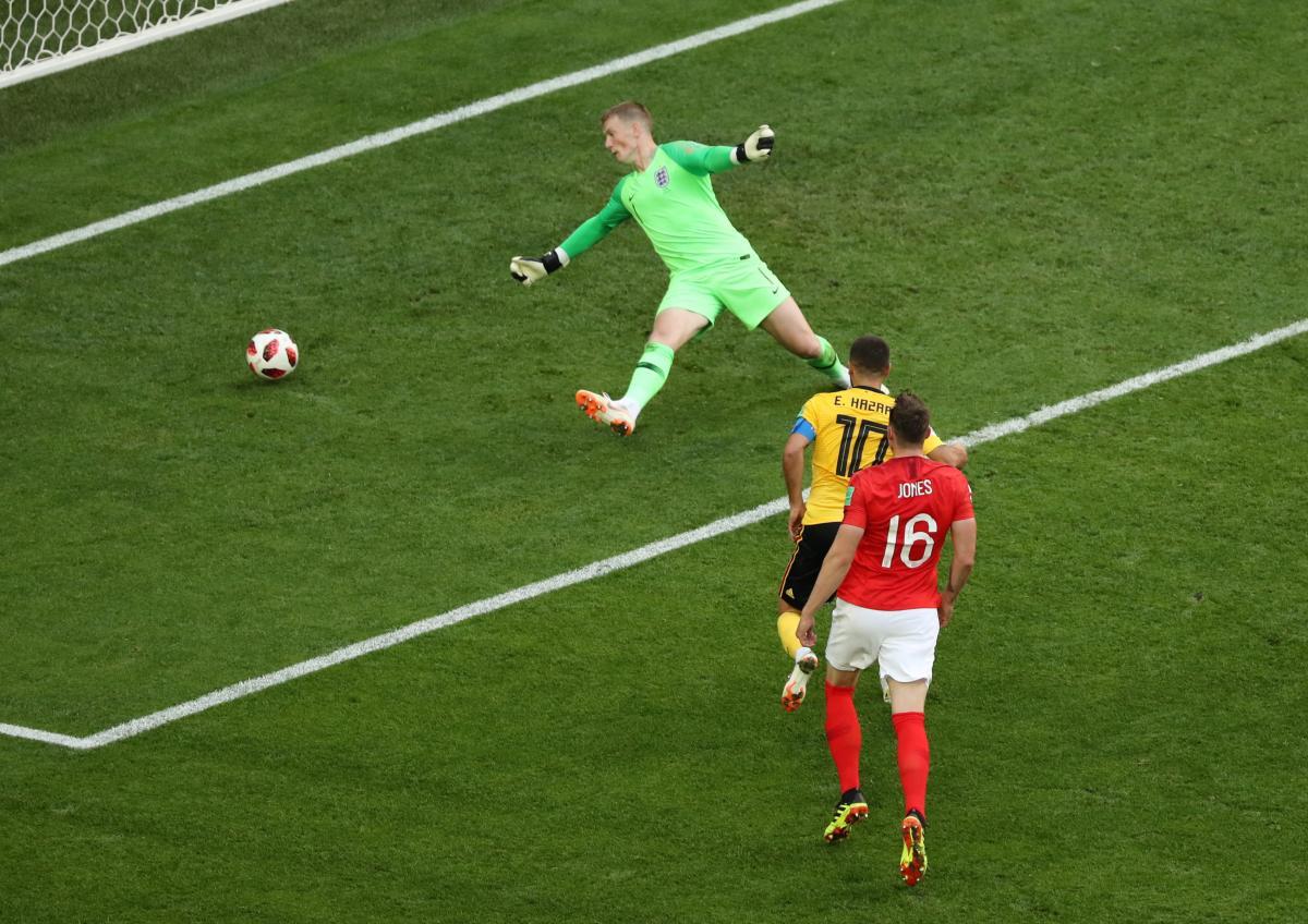 Збірна Бельгії забила два голи у ворота команди Англії / Reuters