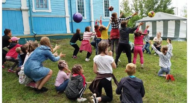 Правосланий табір відвідували близько тридцяти дітейКиївщини та столиці / boryspil-eparchy.org