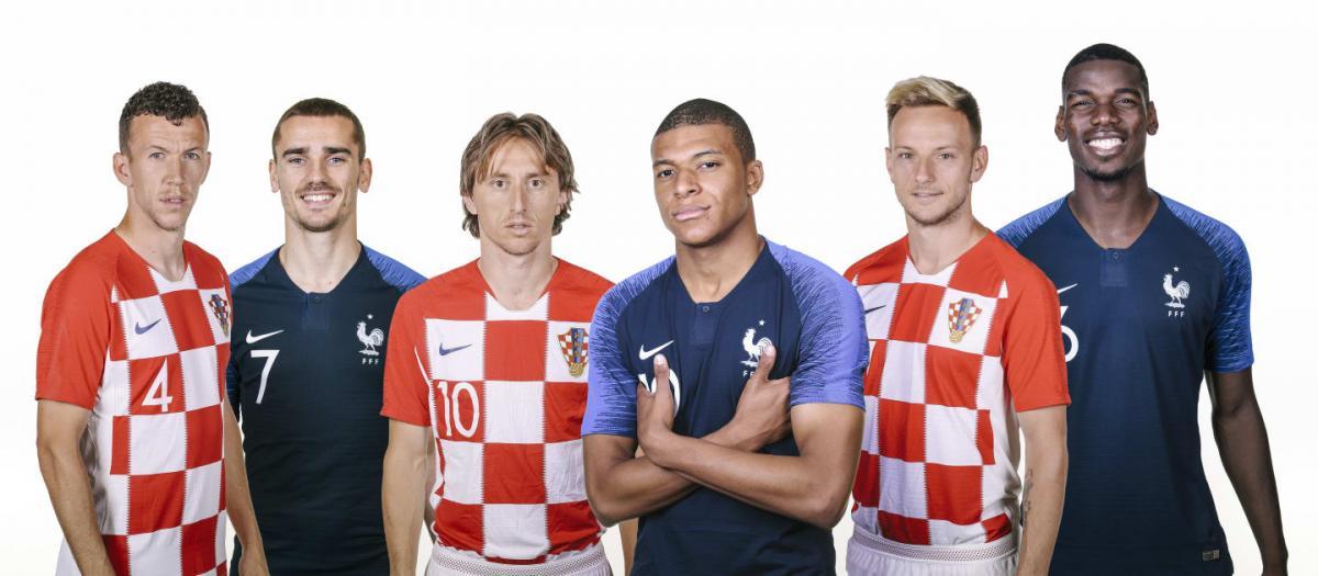 Сборные Франции и Хорватии сыграют в финальном матче ЧМ-2018 / fifa.com