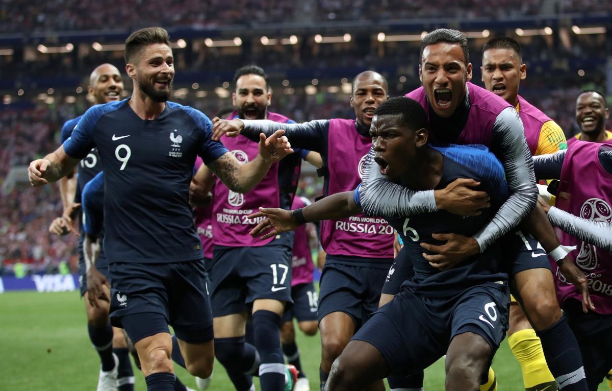 Сборная Франции - чемпион мира-2018 / REUTERS