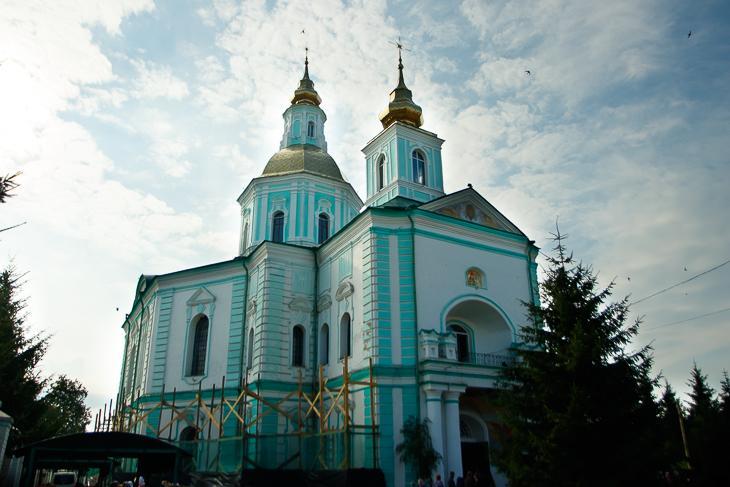 На Сумщині відбулися церковні урочистості, присвячені 250-літтю Покровського кафедрального собору / portal-pravoslavie.sumy.ua