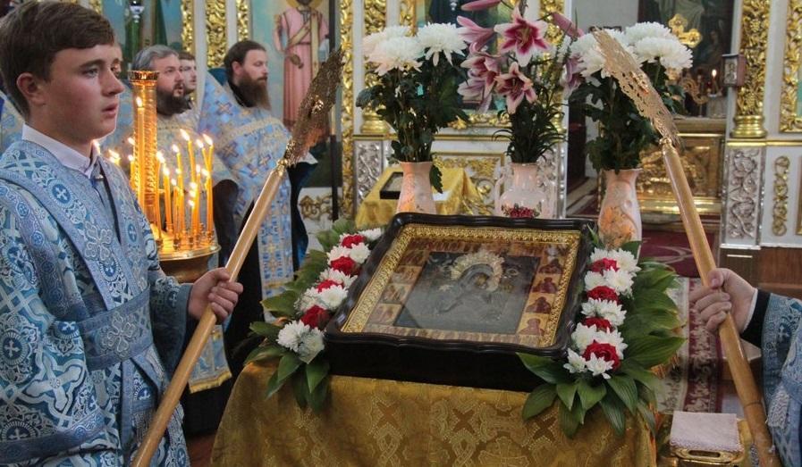 Чудотворна Борзнянська ікона Богородиці через століття повернулася до Ніжинської єпархії / orthodox.cn.ua