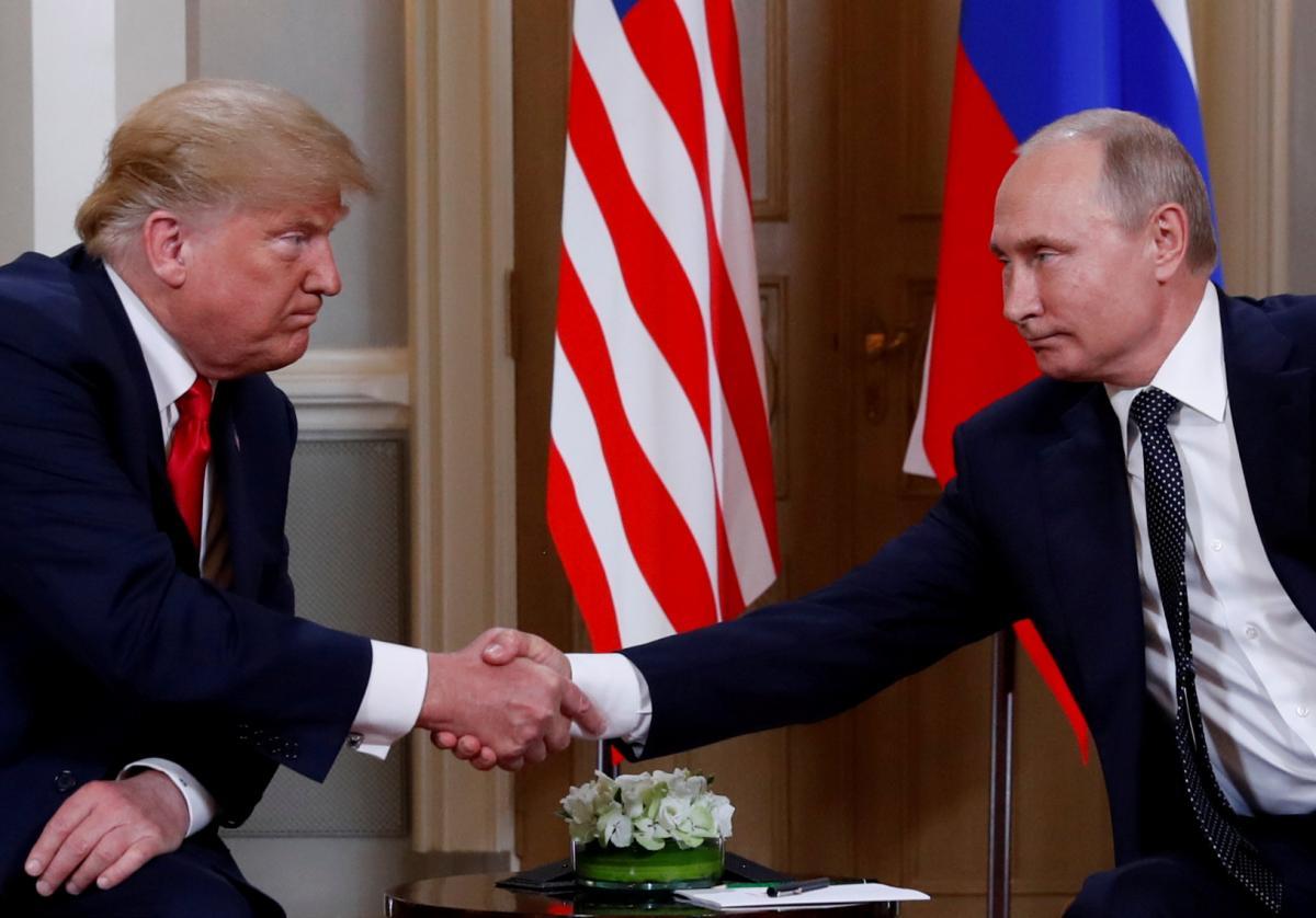 Дональд Трамп і Володимир Путін / REUTERS