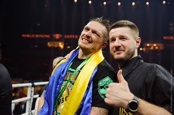 Олександр Усик і Сергій Ватаманюк розлучилися напередодні бою за титл абсолютного чемпіона світу / K2 Promotions