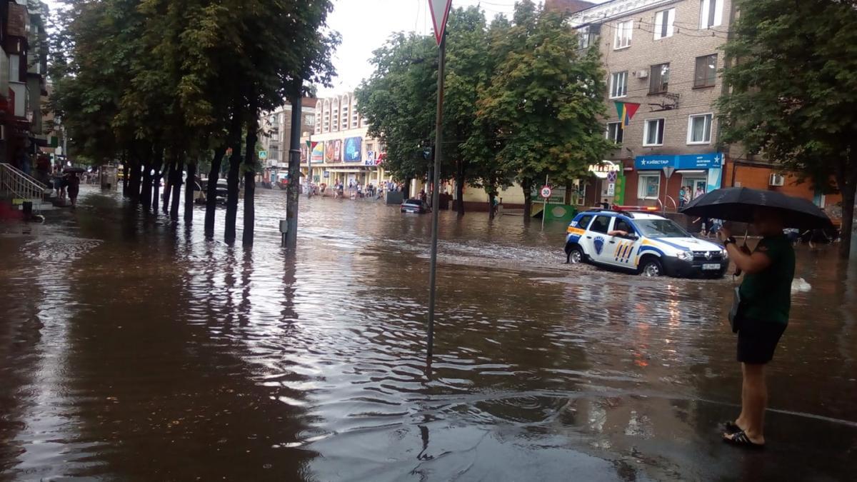 Вчора затопило Кривий Ріг / www.facebook.com/mihail.litvin.7