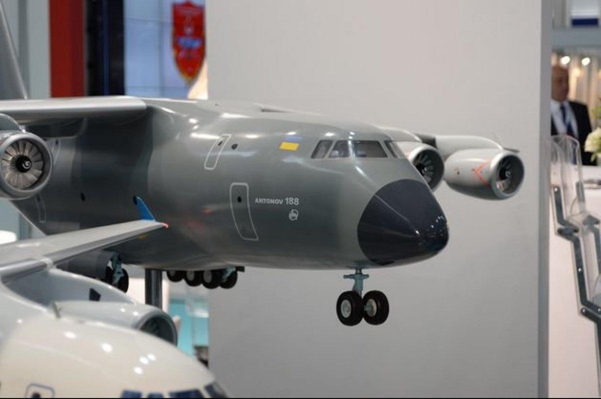 Україна і Туреччина вирішили спільно разрабатівать Ан-188 / фото ukroboronprom.com.ua