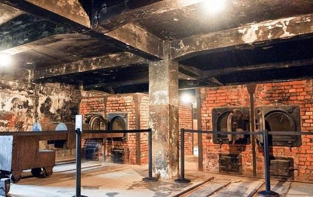 Туристы пытались стащить кирпичи из стен крематория / news.sputnik.ru
