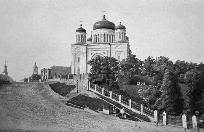 Десятинная церковь на старинной фотографии 1880-го года / smartclever.com.ua