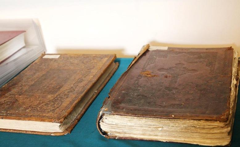 На выставке представлены книги административной и церковной тематики / vinnitsa.info