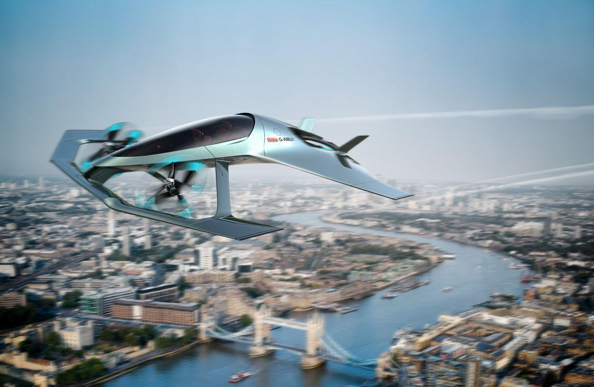Volante Vision Concept -самолет с вертикальным взлетом / фото Aston Martin