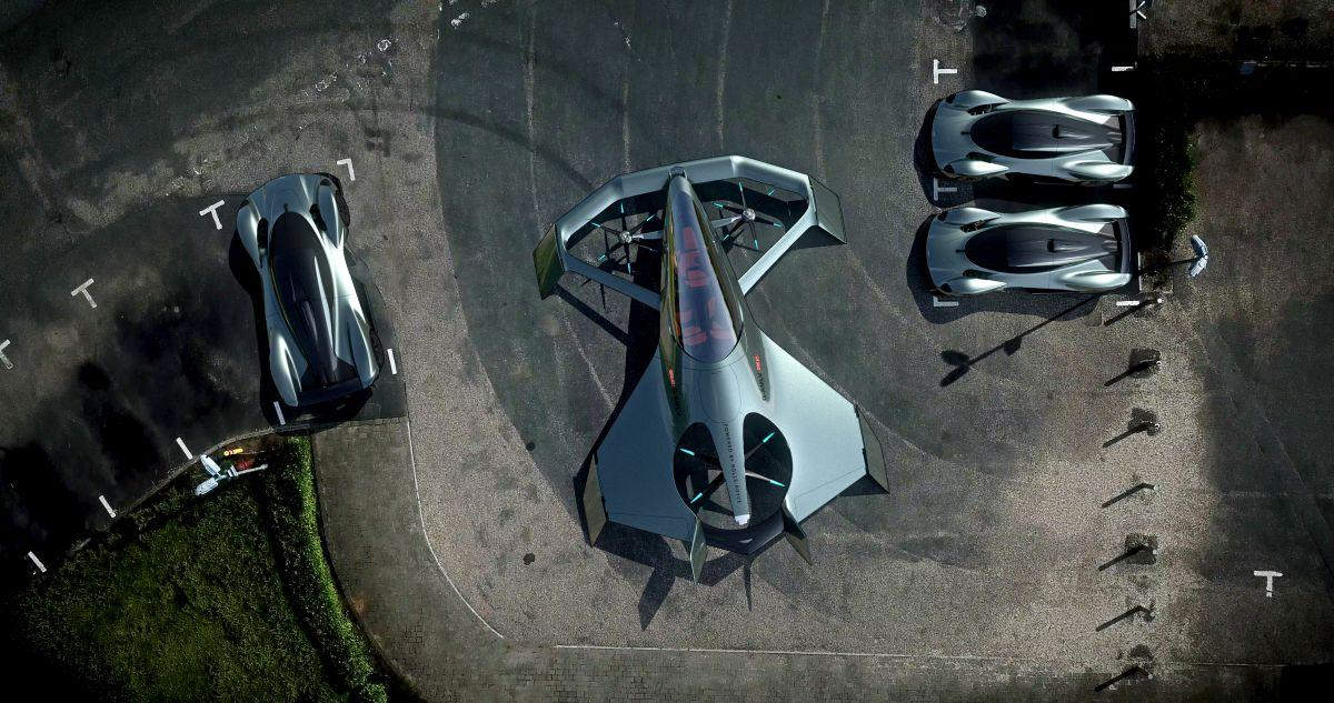 Люди будут искать самый быстрый и удобный транспорт / фото Aston Martin