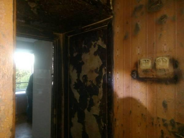 На момент взрыва в квартире находились три человека / ГСЧС