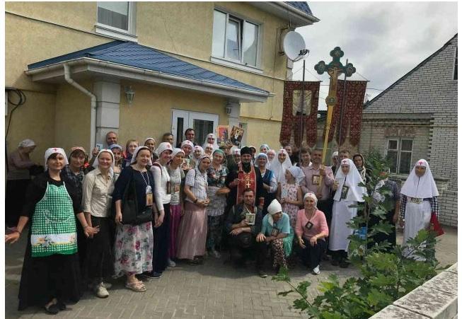 Хресний хід до Зазимського монастиря / boryspil-eparchy.org