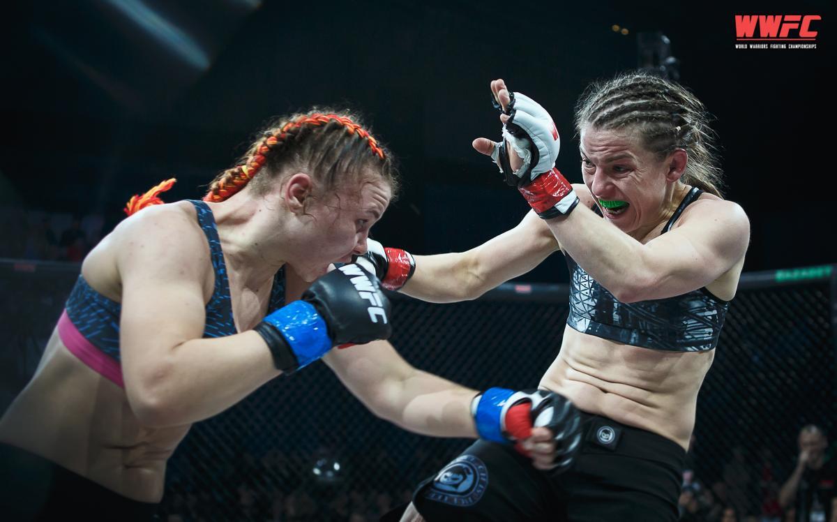 Светлана мечтает принять участие в турнирах UFC