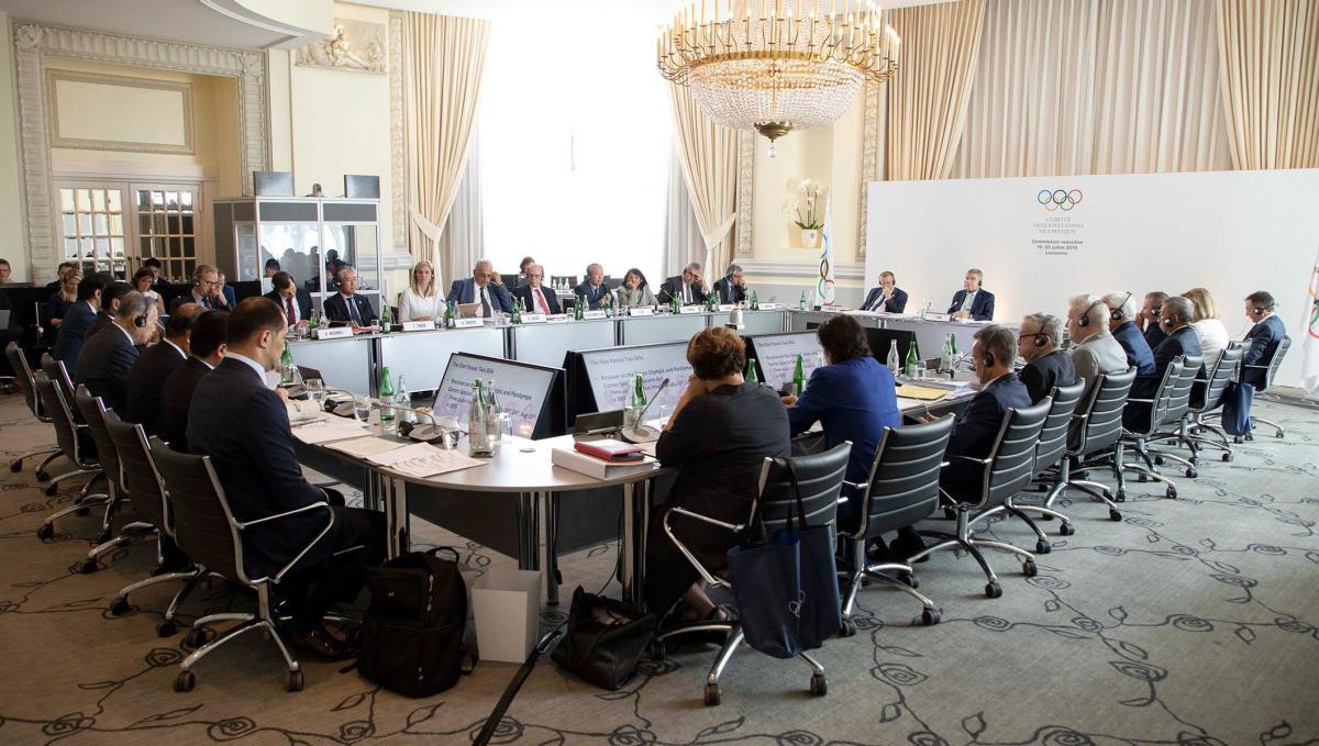 Виконком МОК розширив програму Ігор-2022 / ioc.org