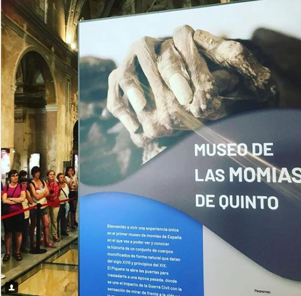 Музей створено на базі Церкви Асунсьйон / momiasdequinto.es