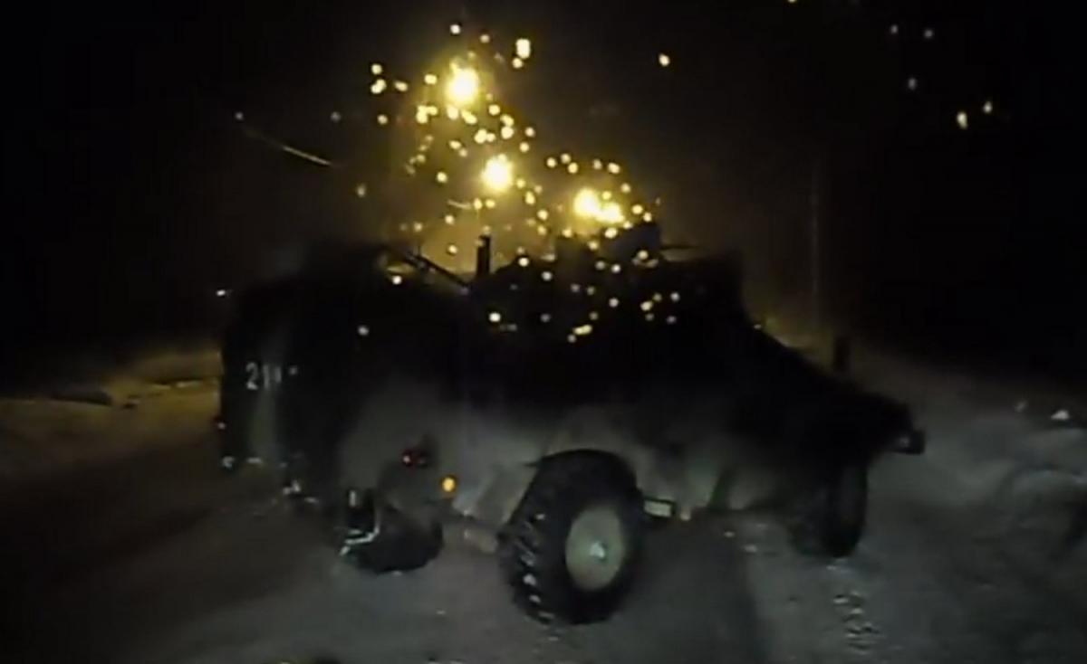 Бронеавтомобиль «Выстрел» используется исключительно российскими пограничниками /bellingcat.com