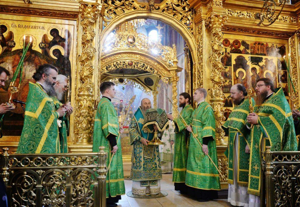 Митрополит Онуфрій молився в Троїце-Сергієвій лаврі / news.church.ua