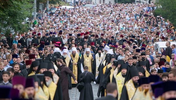 Крестный ход в День Крещения Руси-2017 / фото из открытых источников