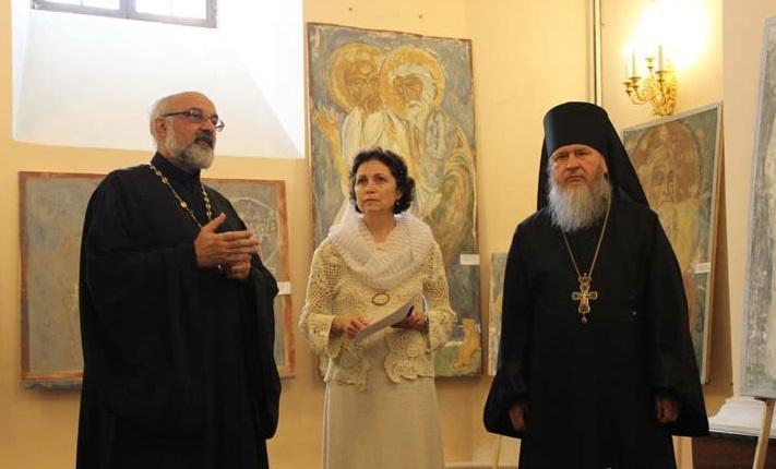 Експозицію склали копії фресок XI-XII століть / eparhiya.by