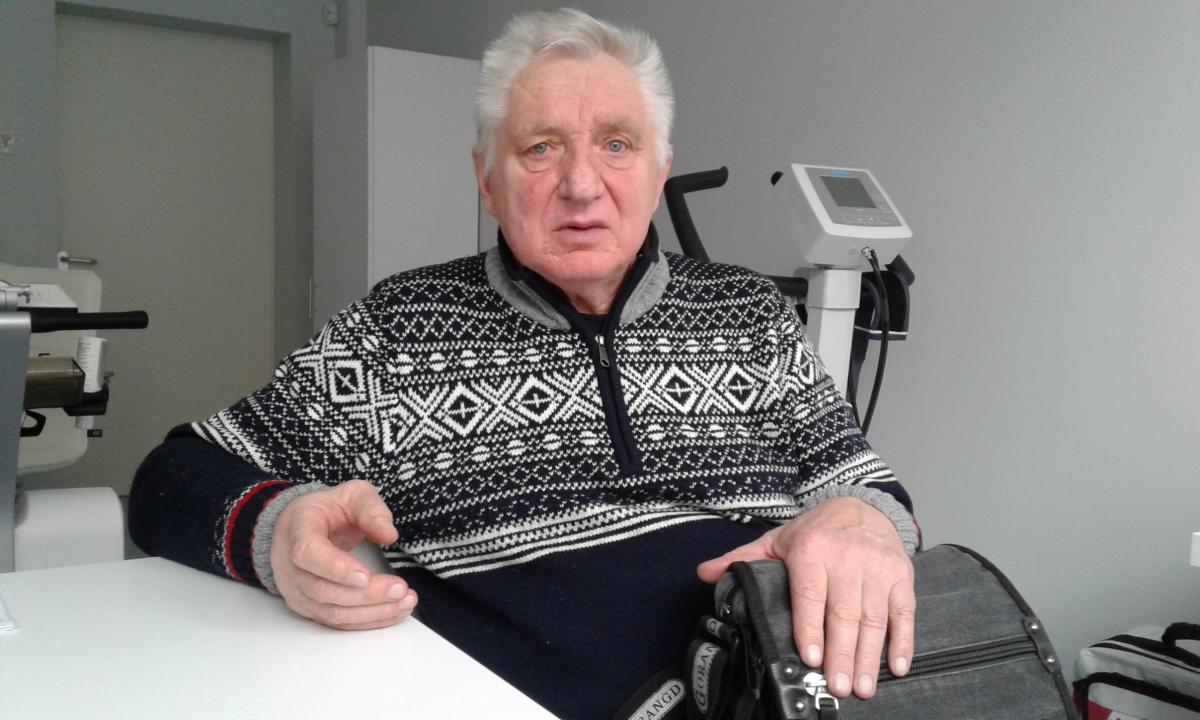 Владимиру Зинченко сделали многососудное коронарное шунтирование миниинвазивным методом