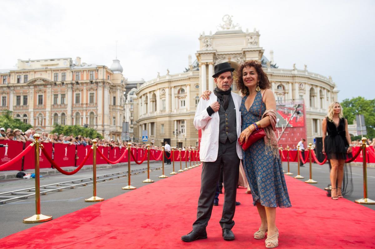 Дени Лаван выразил поддержку украинскому режиссеру Олегу Сенцову / фото ОМКФ