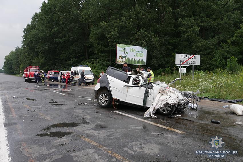 Вследствие ДТП погибли трое людей / фото hm.npu.gov.ua