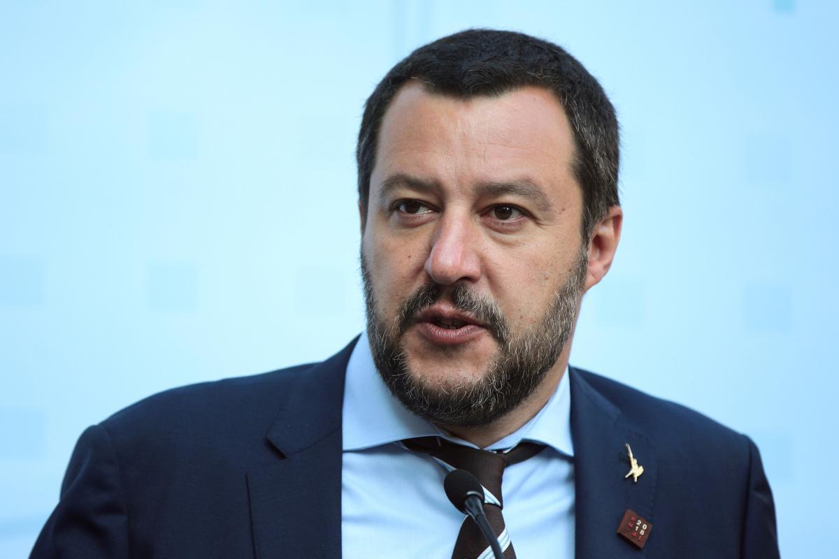 Глава МВД Италии Маттео Сальвини / фото REUTERS