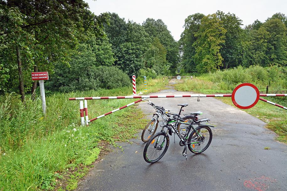 Туристи залишили велосипеди у Польщі і незаконно пішли в Україну / Фото bieszczadzki.strazgraniczna.pl