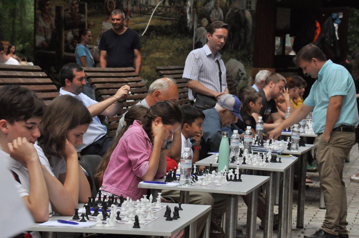 В Киеве отметили Международный день шахмат / Спортивный комитет Украины