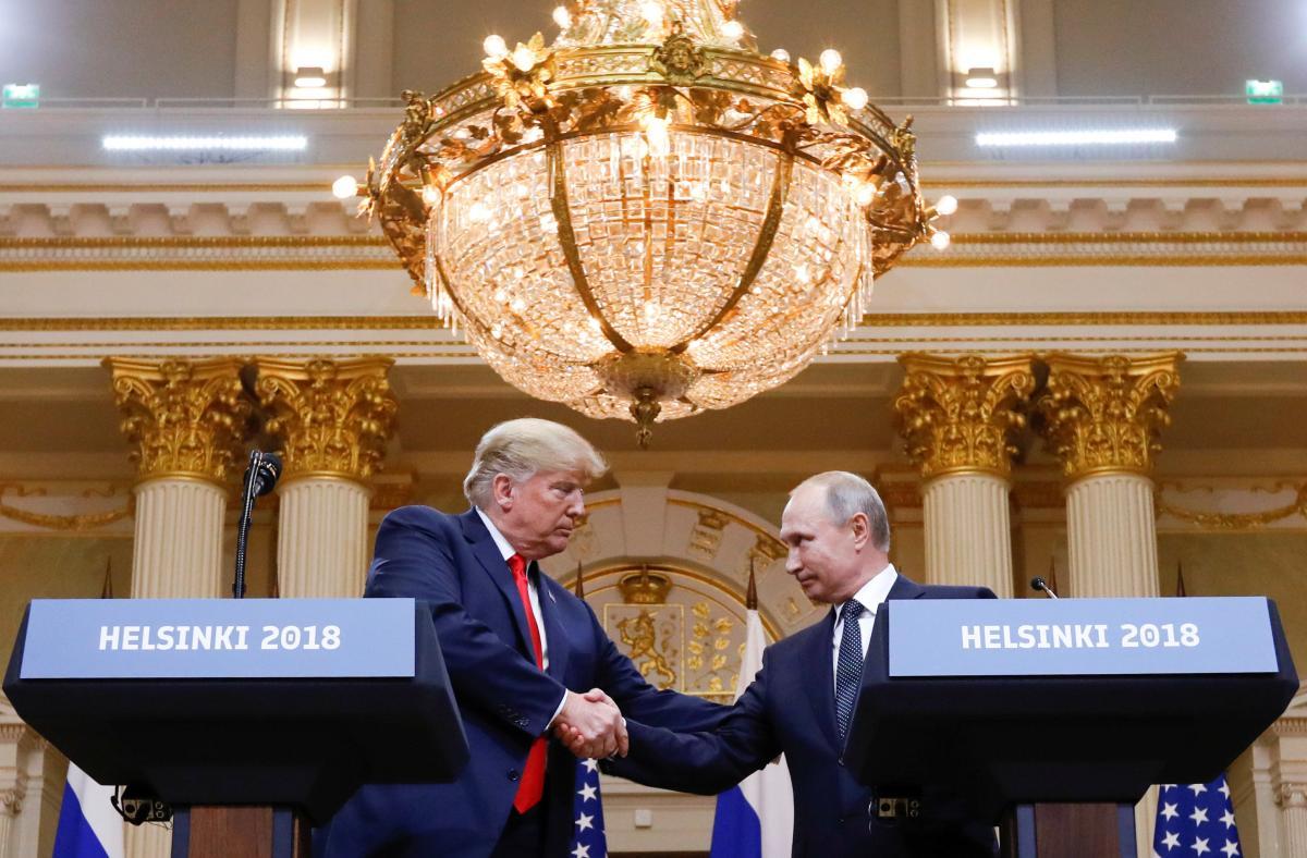 Дональд Трамп и Владимир Путин / фото REUTERS