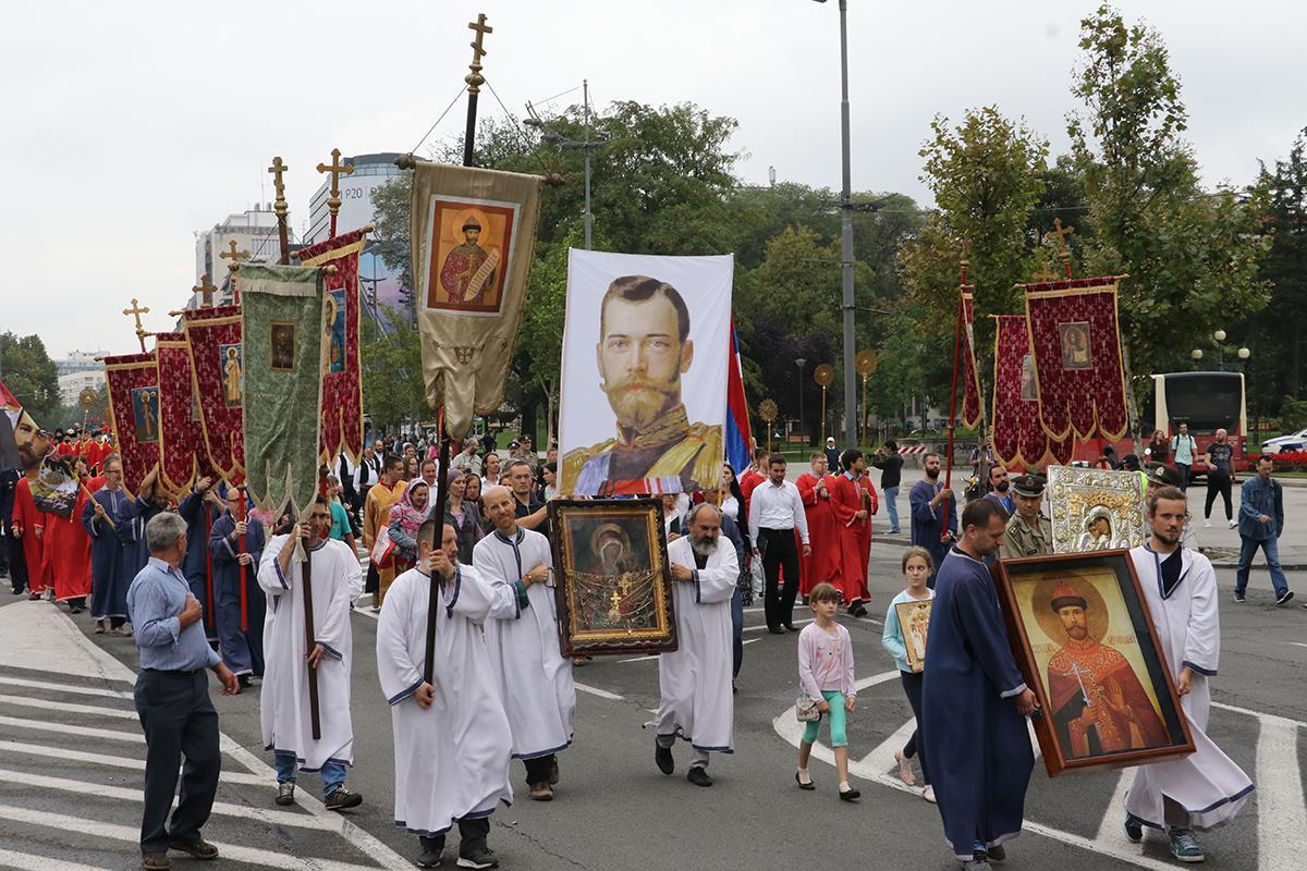 У Белграді відзначили день пам'яті царствених страстотерпців / mospat.ru