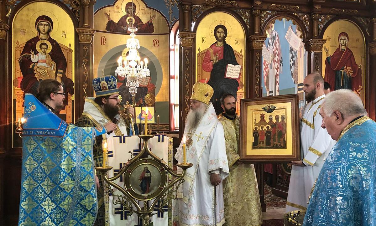 Пам'ять царствених страстотерпців вшанували уСловаччині / mospat.ru