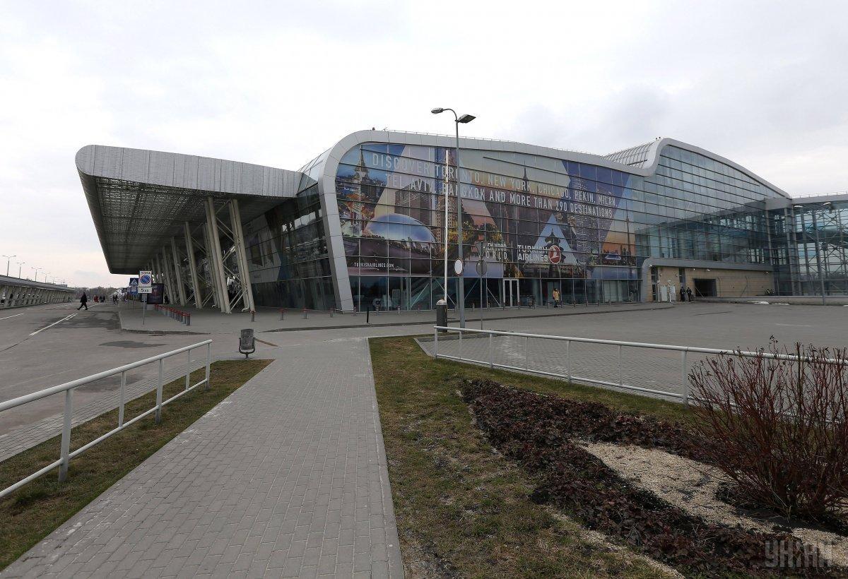 Про причини виникнення аварійної ситуації в прес-службі аеропорту пообіцяли повідомити додатково / фото УНІАН
