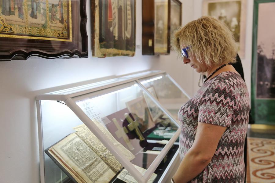 В Киево-Печерской лавре открылась выставка «Дом Пресвятой Богородицы» / lavra.ua