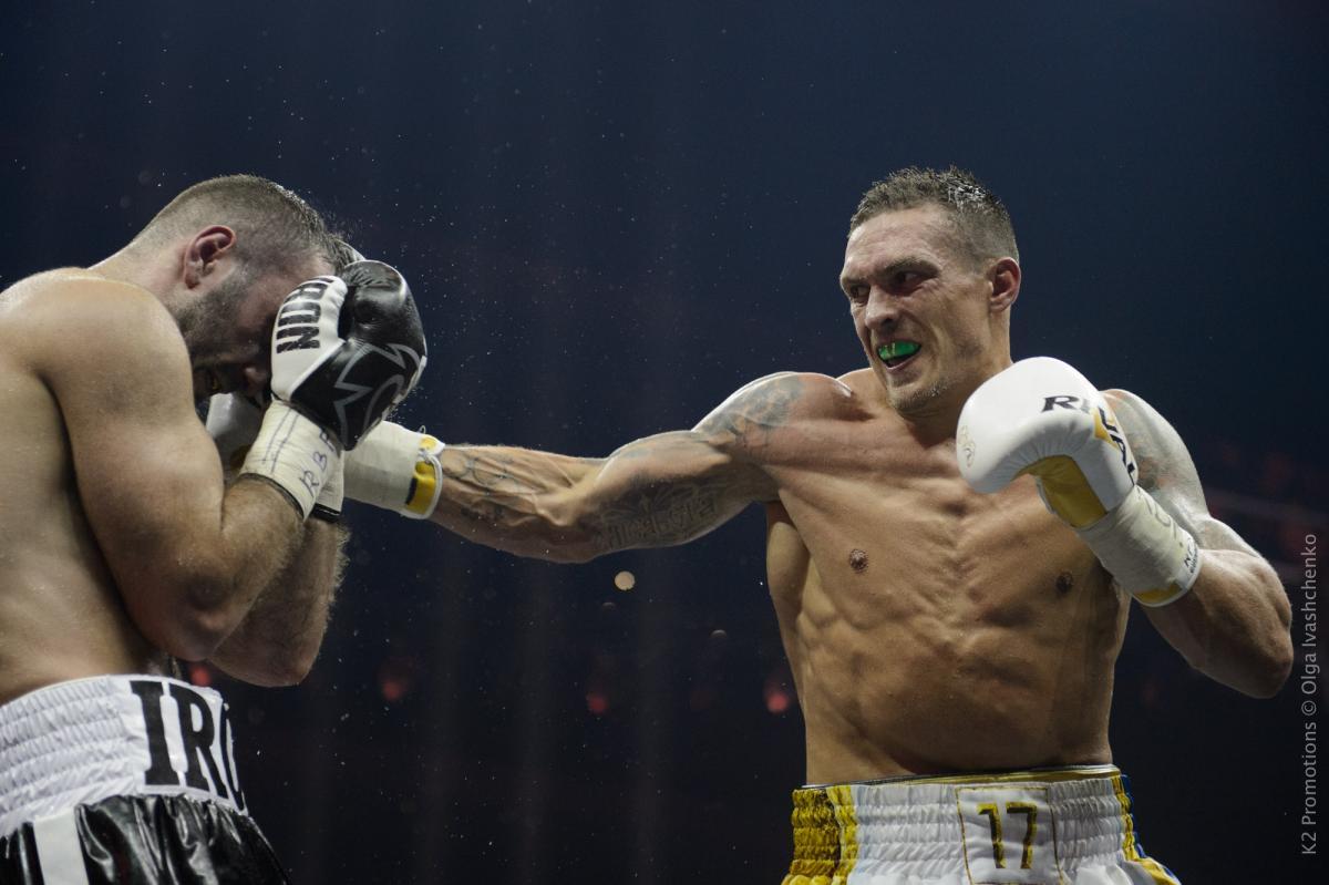 Усик узнал размер гонорара за свой следующий бой / Ольга Іващенко/K2Promotions Ukraine