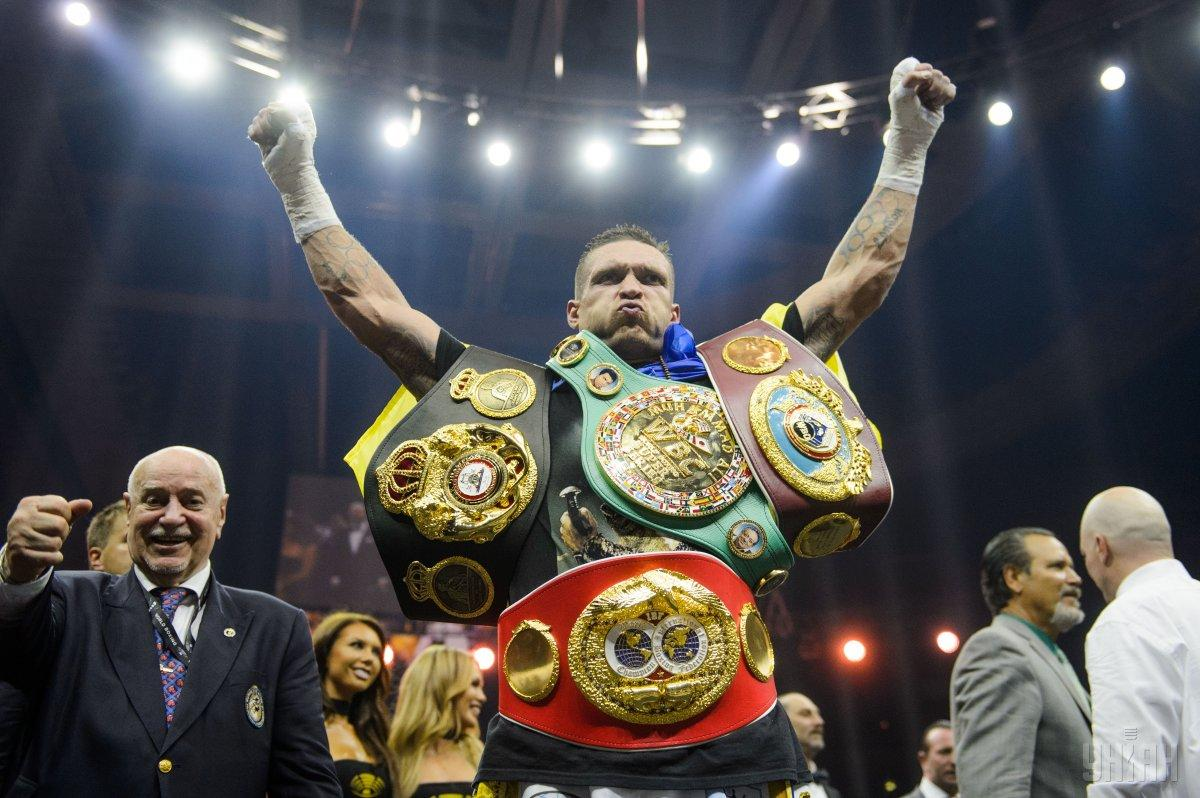 Усик стал облададтелем еще одной награды в мире бокса /УНИАН