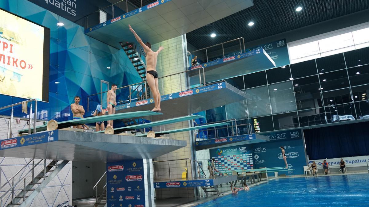 У Києві стартує чемпіонат світу зі стрибків у воду / kyiv2018.org
