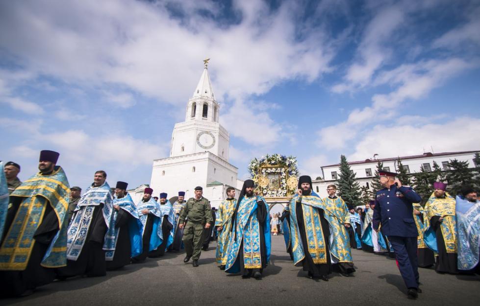 У Казані відбулися урочистості на честь явлення Казанської ікони Божої Матері / tatmitropolia.ru