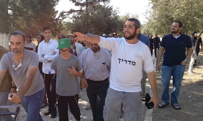 Евреи совершили восхождение к национальной святыне, однако, 9 из них были задержаны/ 7kanal.co.il