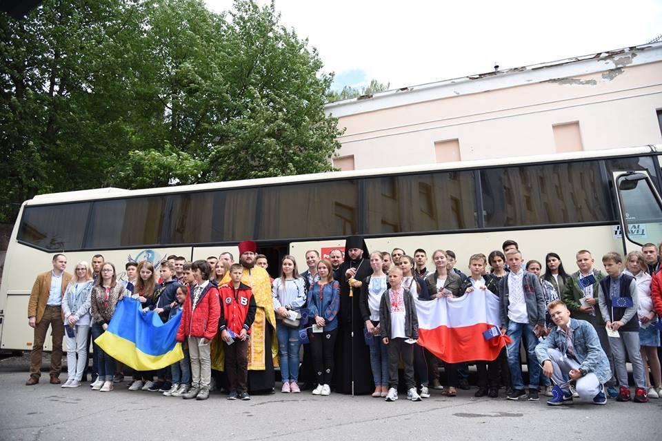 У липні майже 50 дітей бійців АТО побували на оздоровленні в Польщі, минулого року за кордоном відпочили 250 дітей учасників АТО фото прес-служба ТОДА