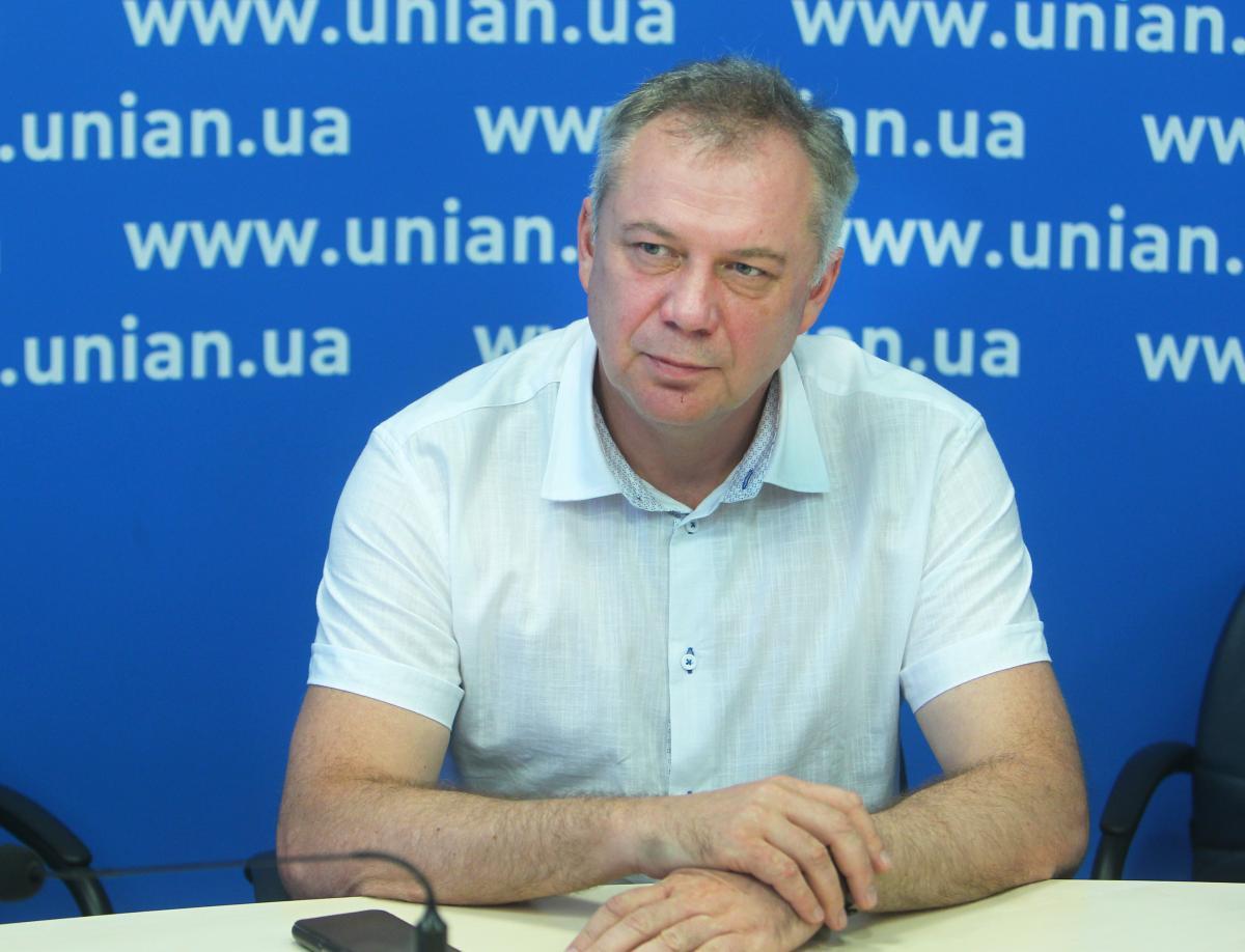 Сергей Сидоров рассказал, как получилось, что предприятие стало единственным в Украине по производству хлора / фото УНИАН