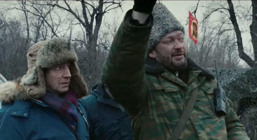 """Над головой мечом висит война – Кривой Рог, где снимали «Донбасс», не так далеко, рассказал Лозница / кадр из фильма """"Донбасс"""""""