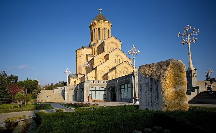 Кафедральний собор Святої Трійці - Самеба / newsgeorgia.ge