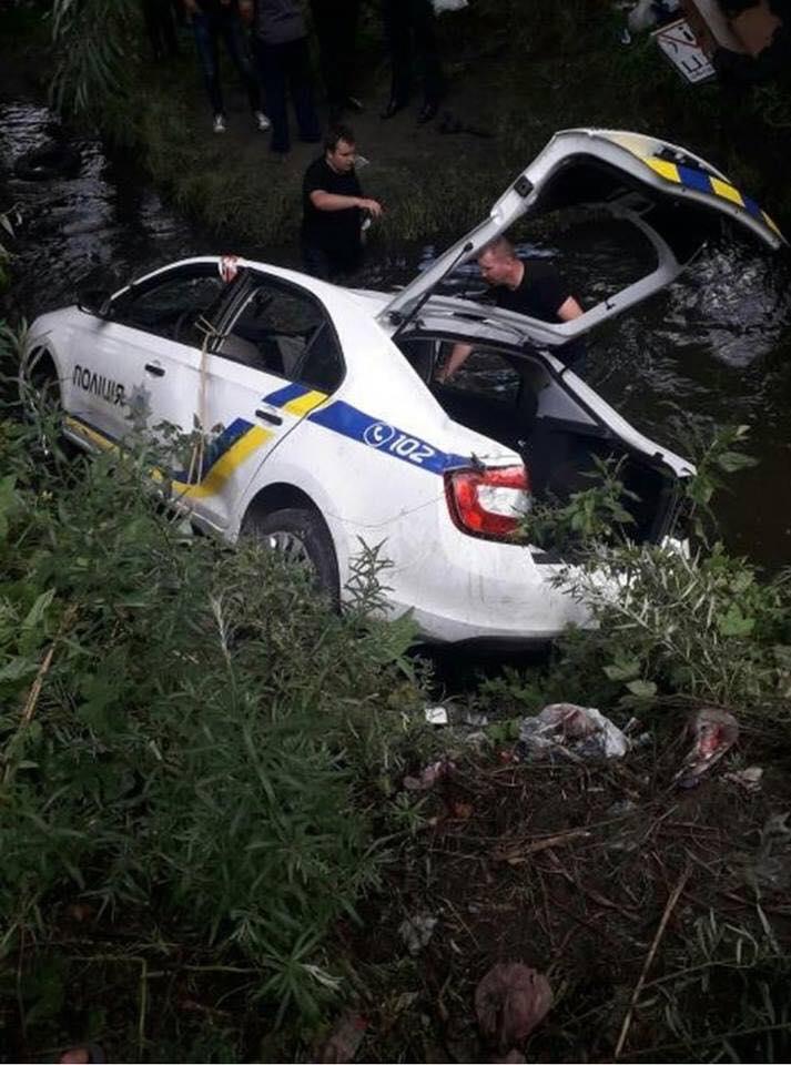 Погоня за мопедом завершилась полным фиаско / Фото facebook.com/dtp.kiev.ua