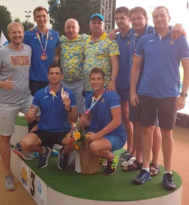 Збірна України виграла бронзу чемпионаат Європи в командному заліку / prosportua.com